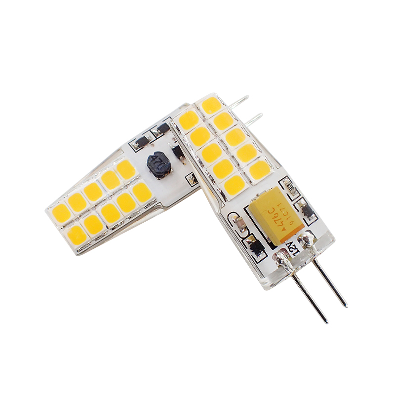 6 Pack G4 LED Lamp 3000k 4000k 6000k AC DC 12V LED G4 Bulb 3W 2835 SMD 20LED Corn Light 280lm Replace 30W Halogen Lamp Spotlight