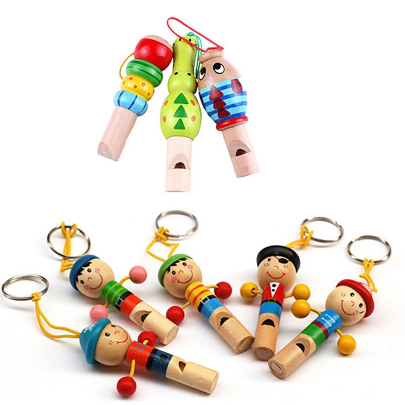 New Wood Cute Cartoon Flower Opera Instrument Vocal Classic Baby Child Development Decorative Baby Toy