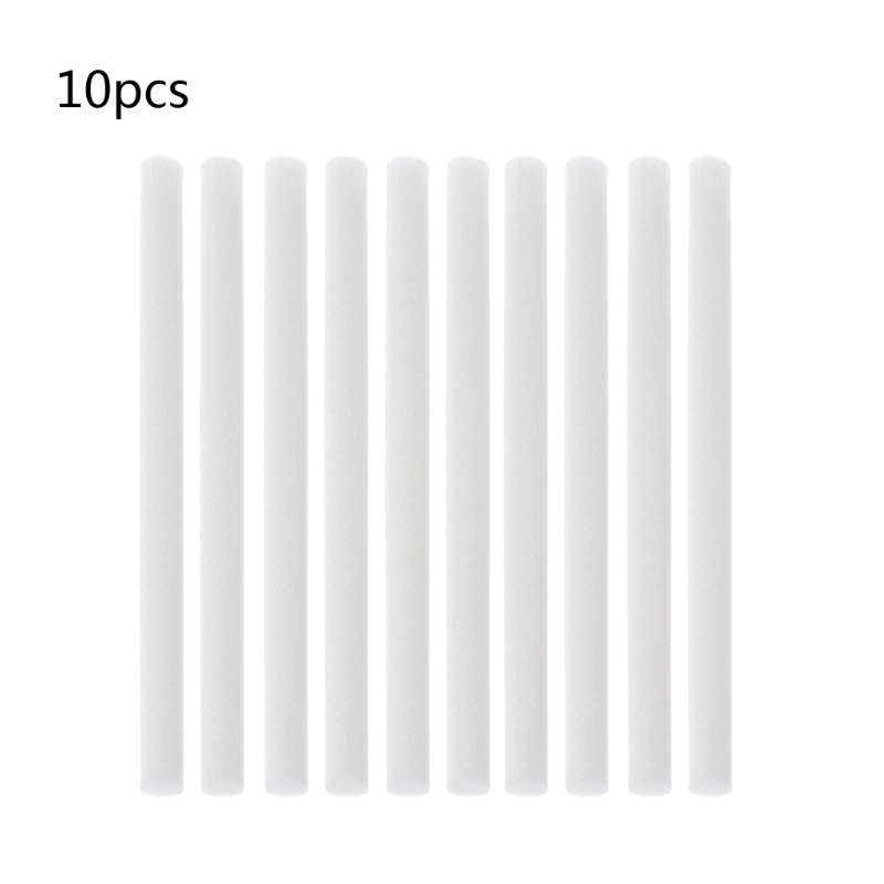 10Pcs 8mmx130mm Humidifiers Filters Cotton Swab for Humidifier Aroma Diffuser  10Pcs 8mmx130mm Humidifiers Filters Cotton Swab for Humidifier Aroma Diffuser
