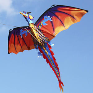 Ametoys Dragon Kite with Handled Flying Toys Adults Outdoor