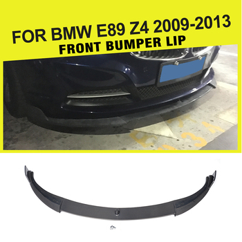 Front Bumper Lip Spoiler Head Aprons Splitters Chin for BMW E89 Z4 2009 - 2013 Not for IS Carbon Fiber / FRP image