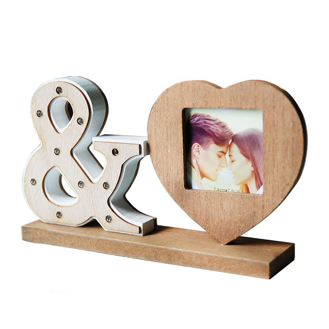 Household Furnishing Articles Photo Frame Irregular Wood Frame