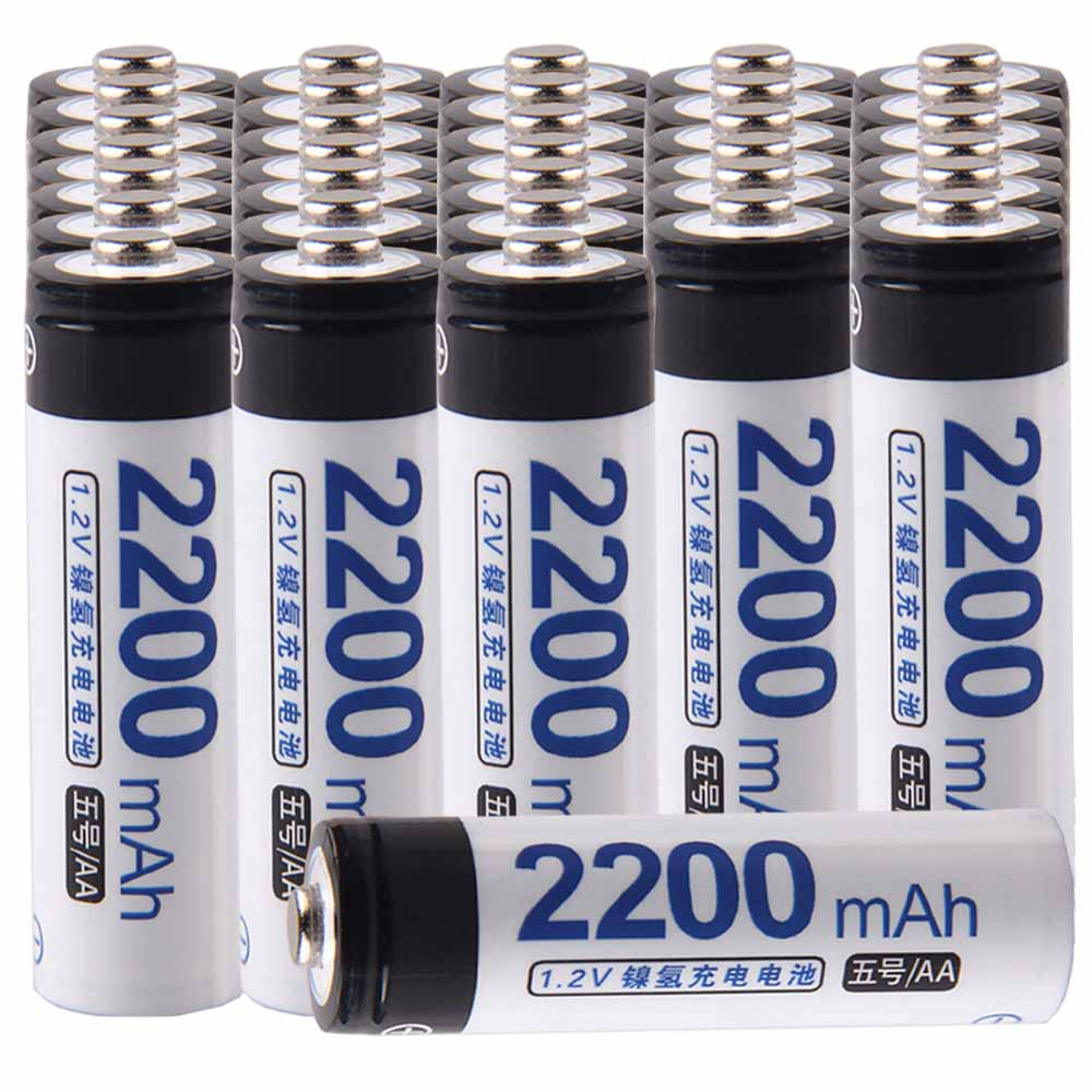 Lowest price 34 piece AA battery 1.2v batteries rechargeable 2200mAh nimh battery for power tools akkumulatorLowest price 34 piece AA battery 1.2v batteries rechargeable 2200mAh nimh battery for power tools akkumulator