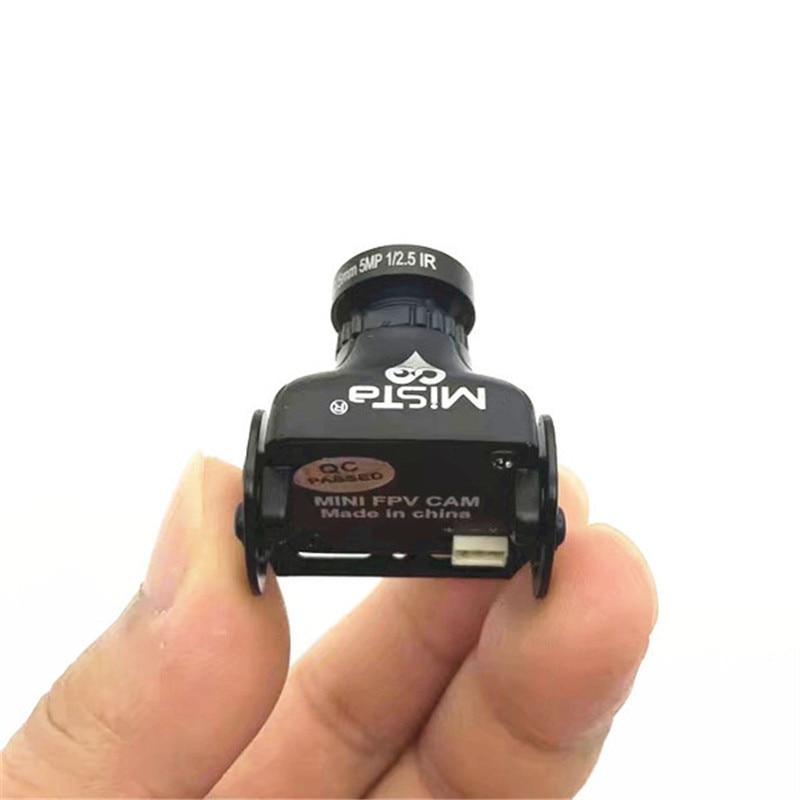 Mista 1200TVL 2.1mm//2.5mm//2.8mm CMOS 16:9 HD Mini FPV Camera PAL//NTSC