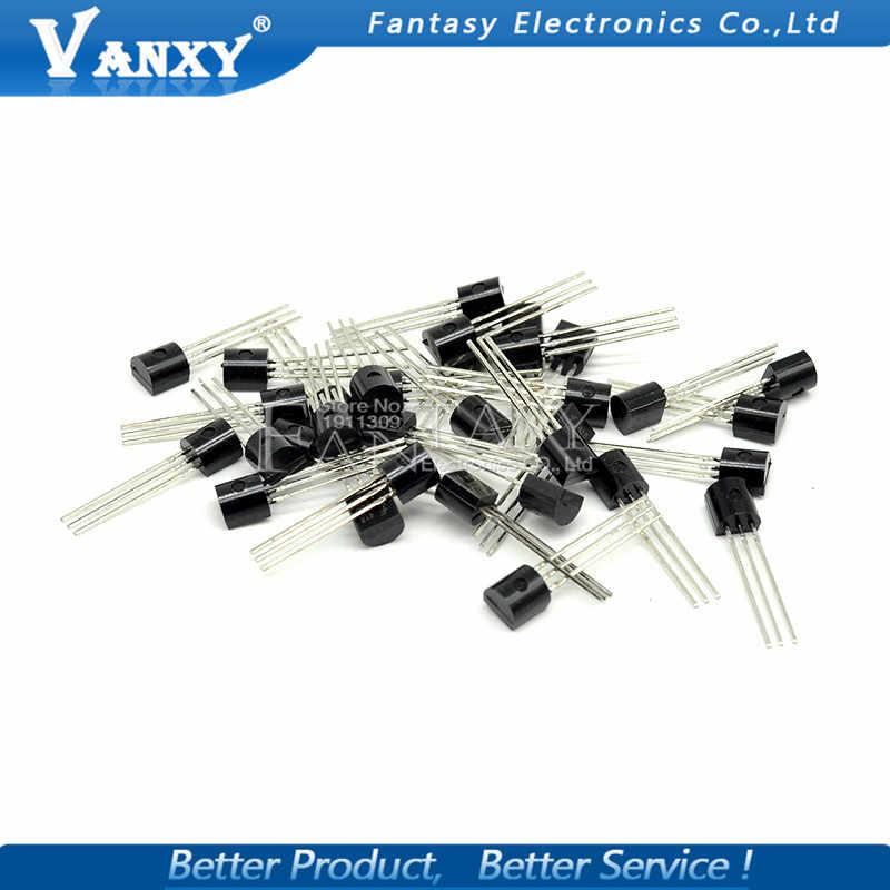 Nuevo 10 PiezasTransistor BC548 BC548B NPN 30V 100 mAH TO-92
