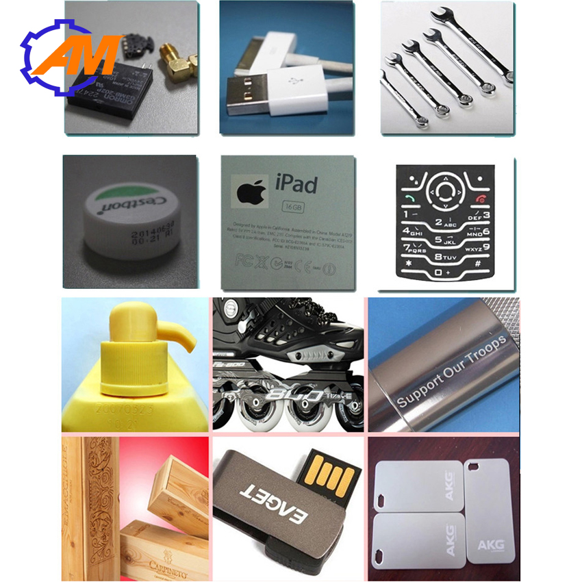Portable stainless steel fiber laser 3d printer marking machine for metal