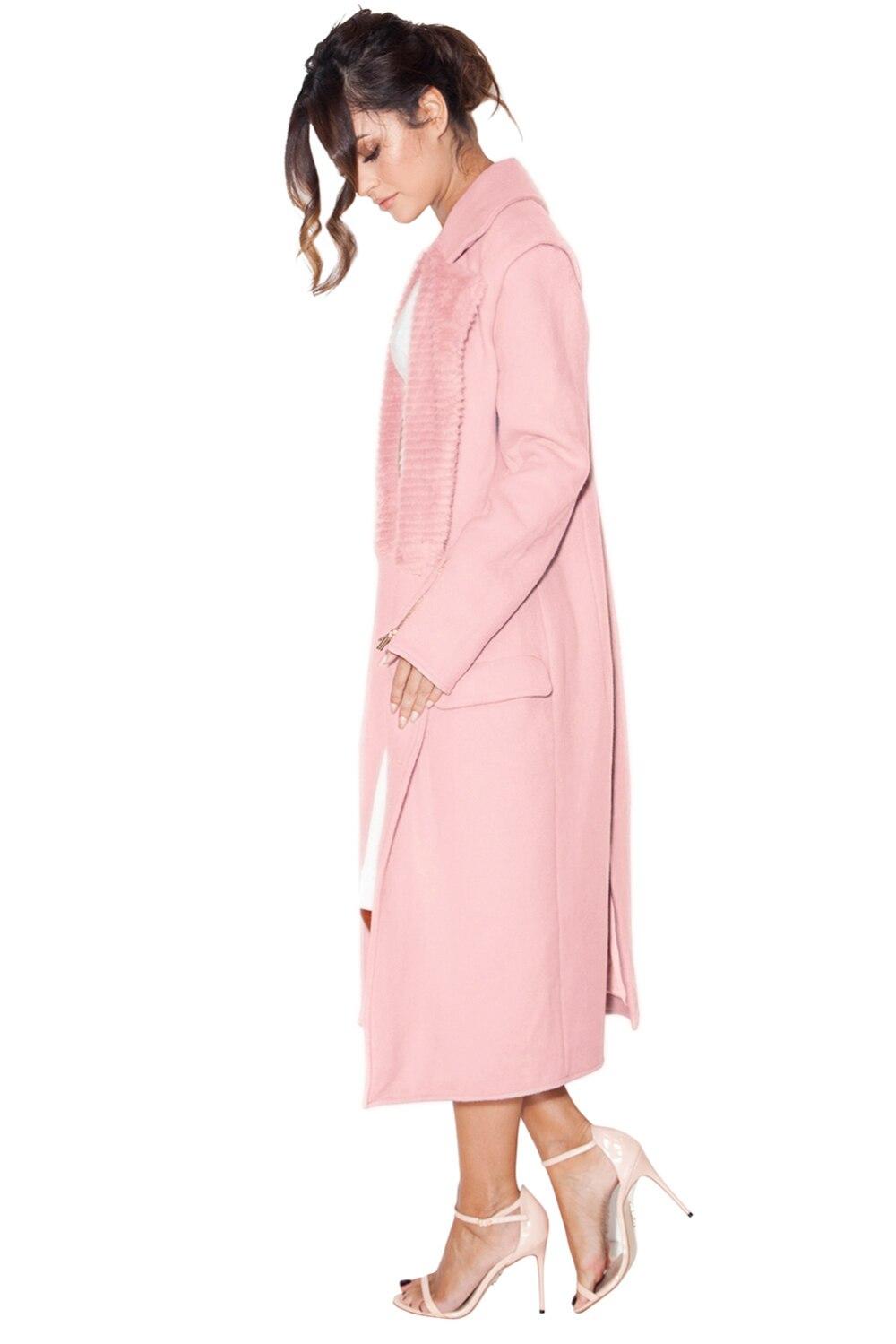 Genou longueur Partie Femmes V Elegante Célébrité Moulante Lacée Nouvelle À Manches Robe Col Poches Rose Soirée 2019 De Longues ECtxwRdawq
