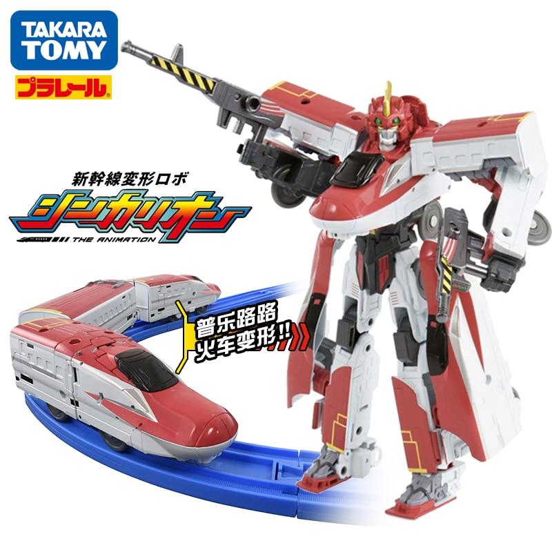 다카라 토미 plarail shinkansen shinkarion e6 komachi 변형 로봇 dxs02 장난감 기차 새로운-에서액션 & 장난감 숫자부터 완구 & 취미 의  그룹 1