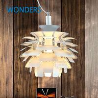 Klasyczna lampa Karczoch Louis Poulsen dania wisiorek światła aluminium Lotniczego 38 cm/48 cm Sosny szyszki Echinacea światła