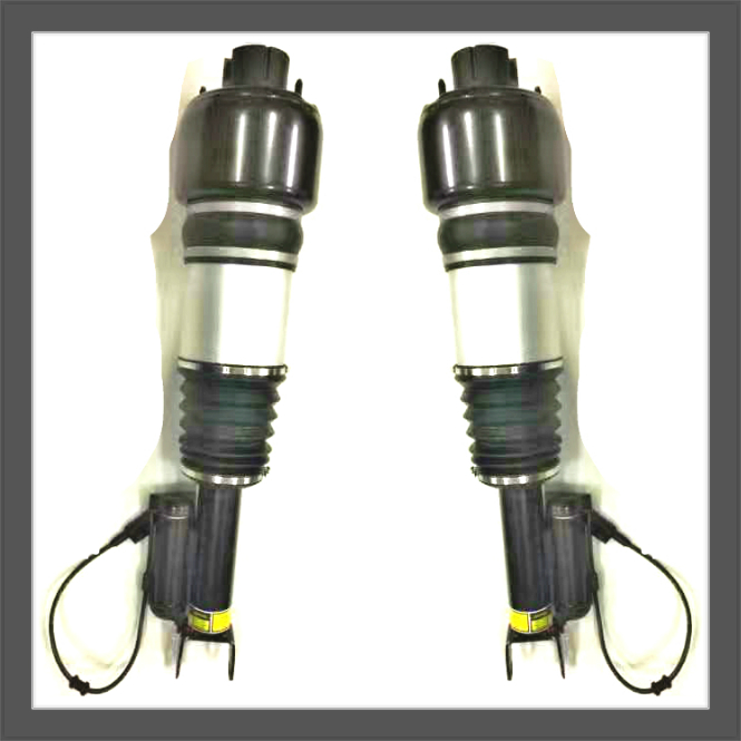 Pair For MERCEDES Benz W211 FRONT Air SUSPENSION SHOCK