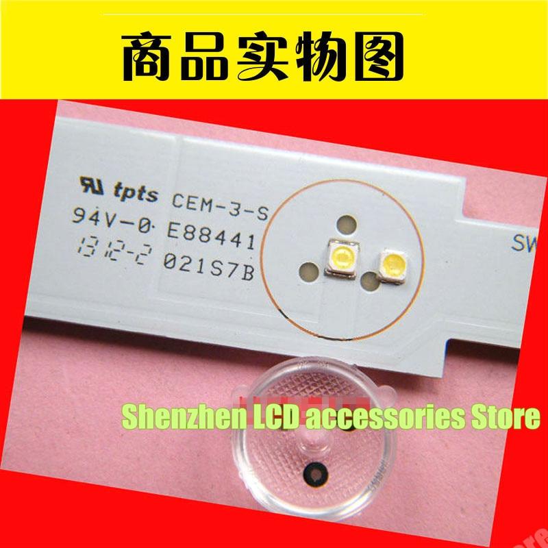 200pcs 3228 LED SMD Lamp Beads 3V For SAMSUNG_2013SVS32_HD_3228N1_B2_09_REV1.7_131015 DF320AGH-R2  TV Backlight Strip Repair
