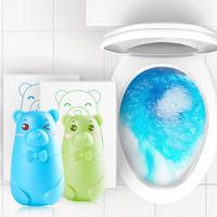 Toilet Deodorant Bear Bubble Toilet Bathroom Accessory Cleaner Detergent Toilet Deodorant Household Cleaning Tool Detergent|Toilet Cleaner| |  -