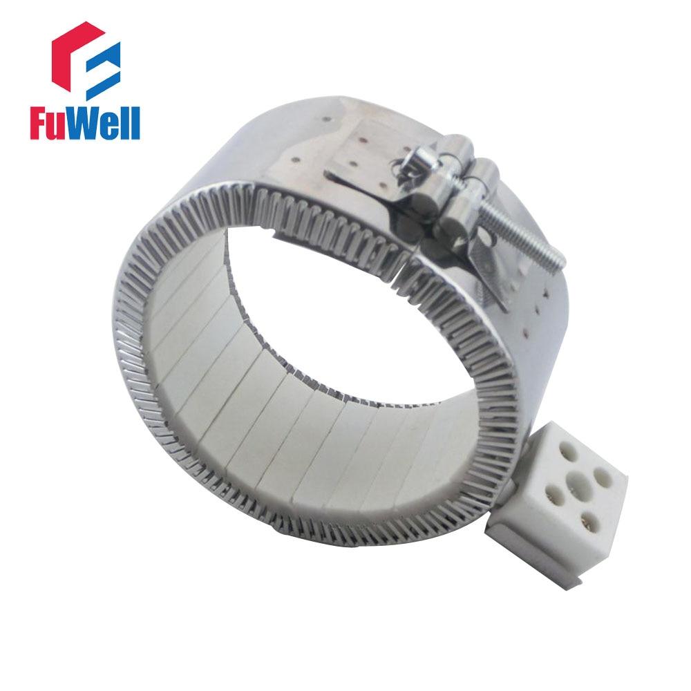 120mmx120mm 220V 2200W Ceramic Band Heater Heating Element