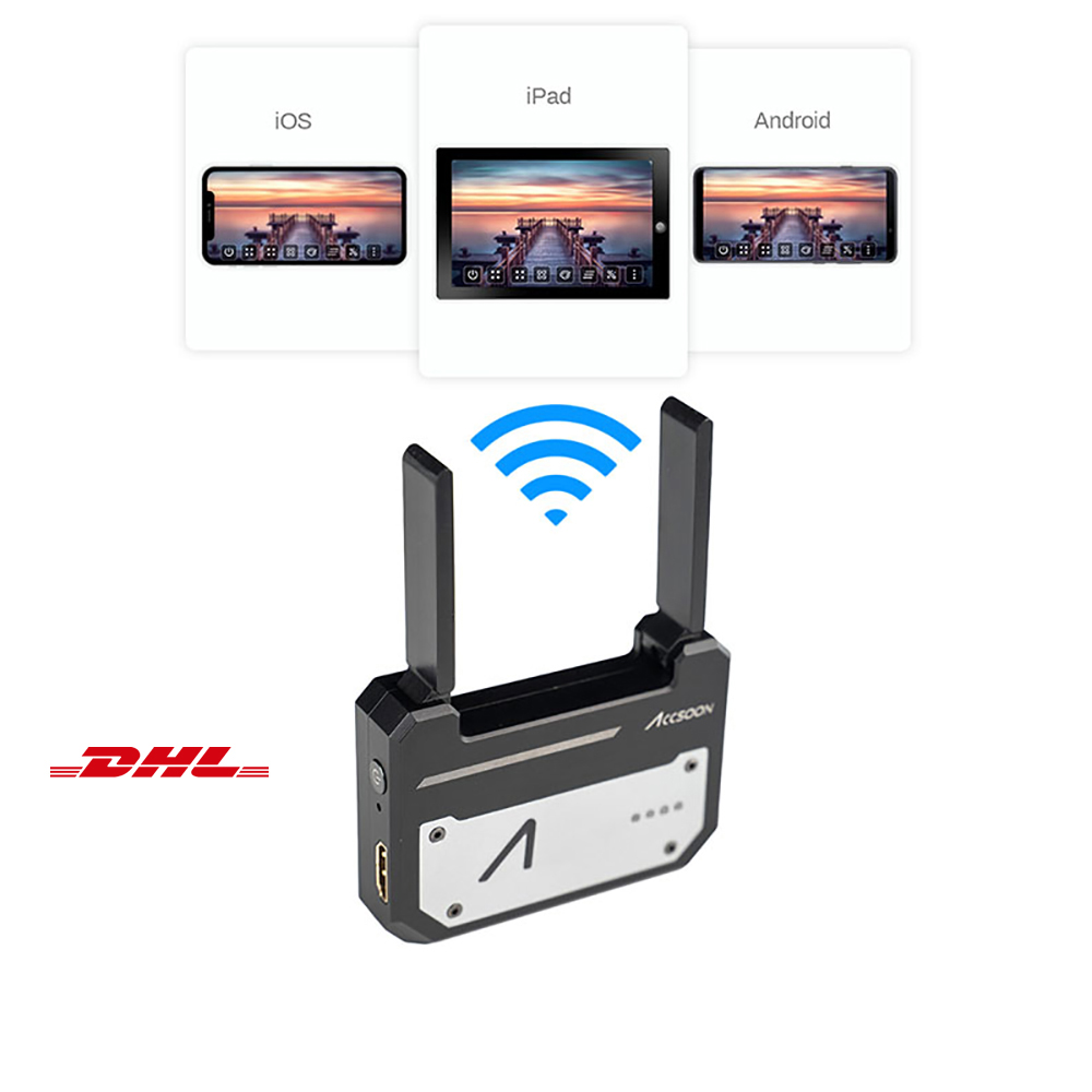 Accsoon CineEye Pocket Wireless Video Audio Transmitter Receiver HDMI Transmission Video Transmitter 1080P Video Audio