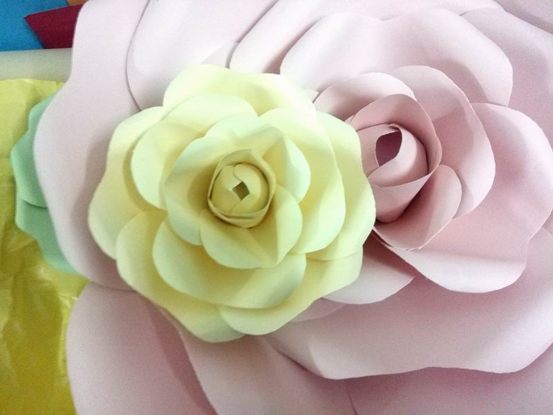 Magnificent Diy Paper Flower Wall Decor Gift - All About Wallart ...