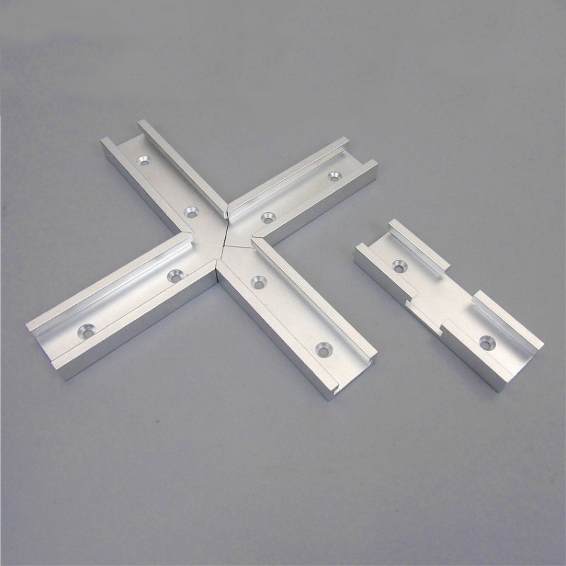 T-Track Intersection Parts Chute Is Generally Pushed With A Dedicated Woodworking Cross Woodworking DIY Accessories