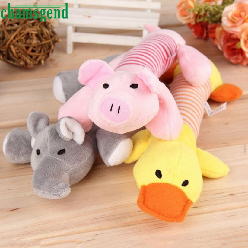 May 12 Mosunx Ausiness Pet Puppy Aog Chew Squeaker Squeaky Plush Soun A Pig Elephant Auck Aall Toy A