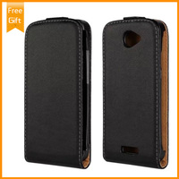 High Quality Genuine Leather Protector Cover Case For HTC One S Z520e Flip Phone Cases Wholesale