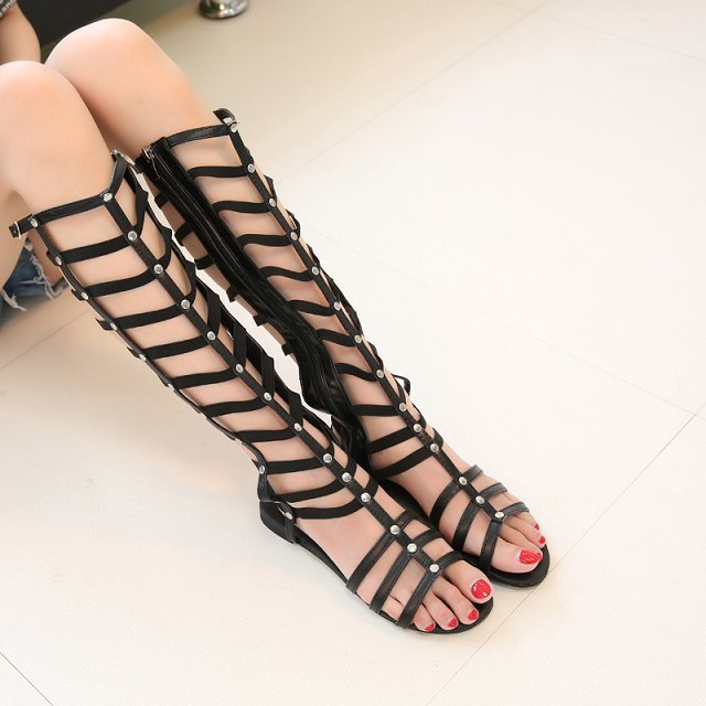 Frauen Schuhe Schuhe Xda 2019 Mode Frauen Zipper Sandalen Schuhe Frau Schuhe Sandalen Frauen Sommer Schuhe Gladiator Casual Damen Schuhe Angenehme SüßE