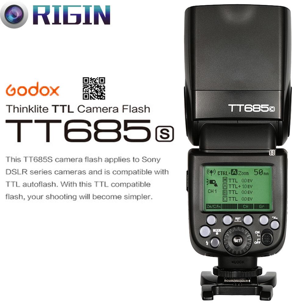 Godox X1T-S 2.4G inalámbrico transmisor Disparador de flash TTL Conjunto para Sony Cámara