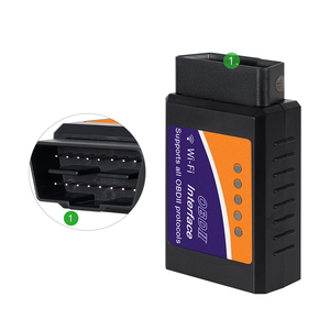 Image 3 - ELM 327 obd2 scanner V1.5 pic18f25k80 wifi elm327 obd ii leitor de código de diagnóstico do carro do bluetooth elm327 obd usb cabo 10 pçs/lote