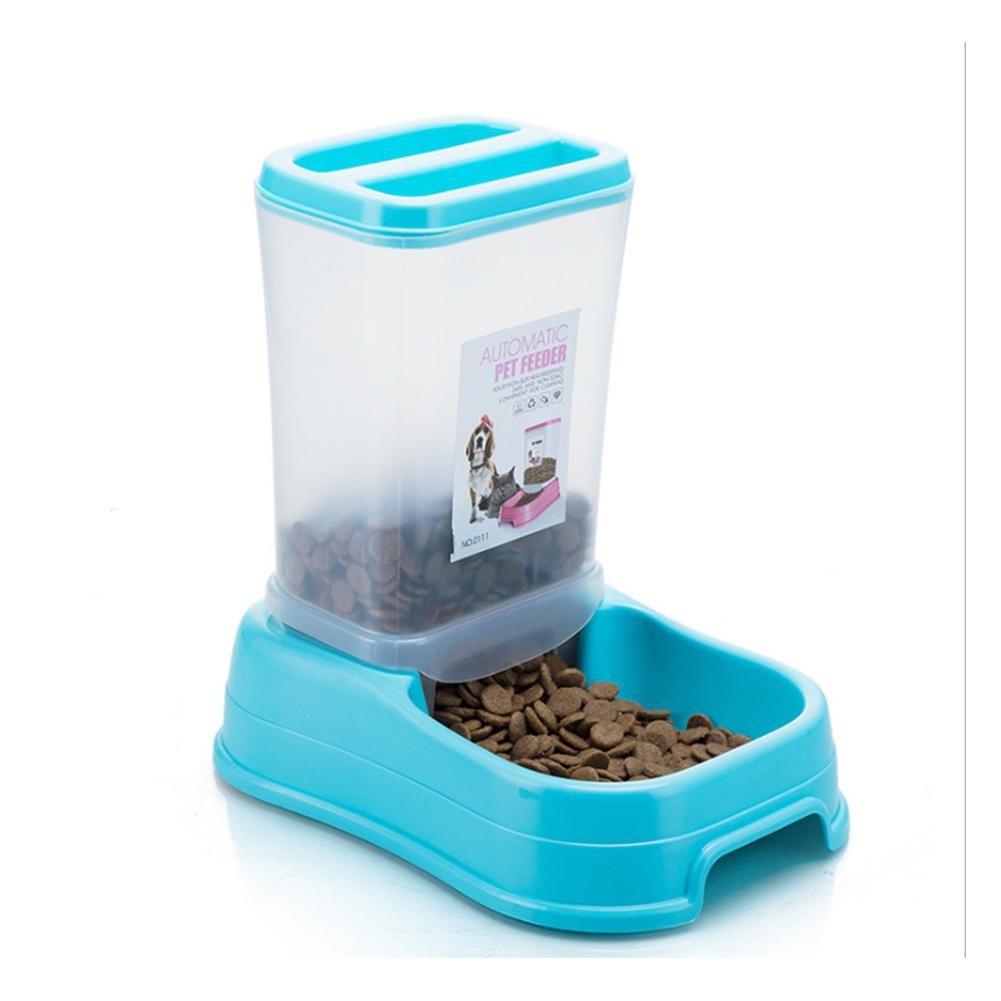 Yfashion Removable Pet Automatic Feeder Food Bowl Feeding Dish Dispenser For Cats Dogs