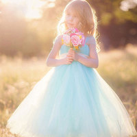 Baby Girls Tutu Dress Fluffy Princess Wedding Dress Children Ballet Handmade Children S Costume Princess Tulle
