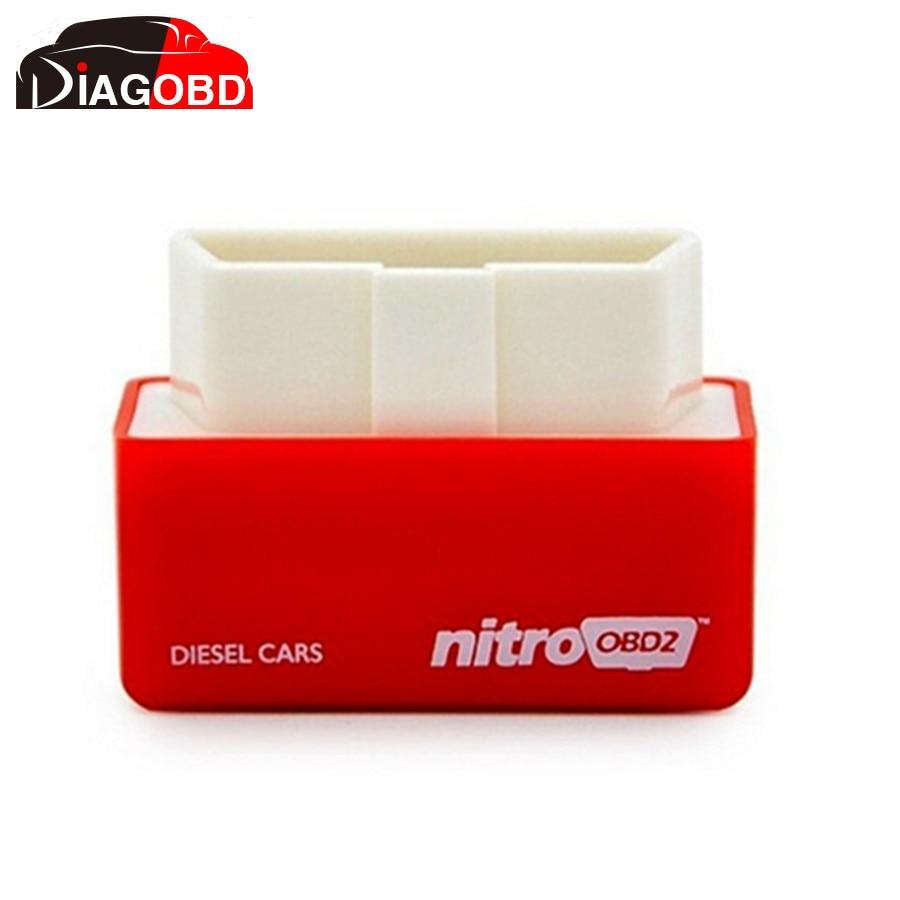 Prix pour Plug and Drive NitroOBD2 Performance Chip Tuning Box pour Voitures Diesel avec 2 An de Garantie