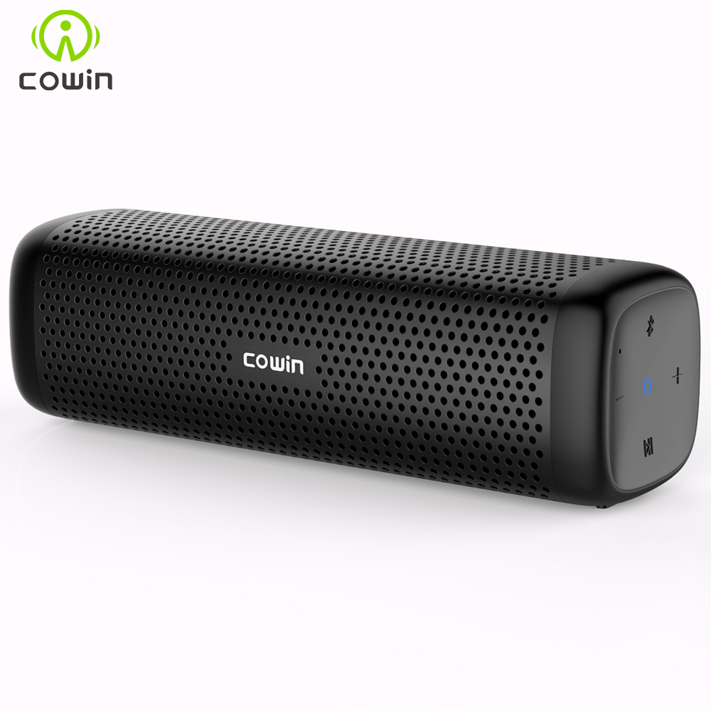 Cowin 6110 Mini Wireless Bluetooth 4.1 Stereo Portable Speaker with 16W Enhanced Bass Microphone TF Card Outdoor MP3 Player