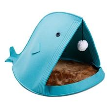 Foldable Whale Shaped Felt Bed