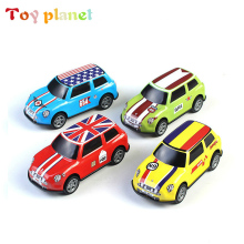 4 pcs Alloy Pull Back Car Toys Car Children Racing Car Baby Mini Cars Cartoon Pull Back Bus Truck Kids Toys For Children Boy Gif kids collectible cute animal model dinosaur panda vehicle mini elephant bear toy truck tiger pull back car boy toys for children