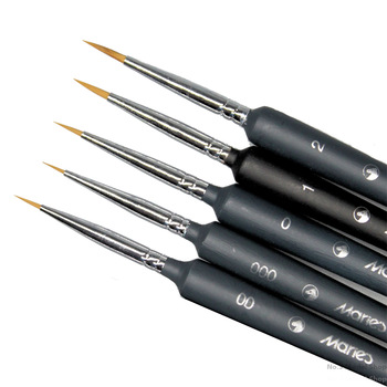 Model Coloring Tool Hook Line Pen Model Percolation Pen Surface Pen Model Building Kits TOOLS color: 0 00 000 00000 4pcs|0 00 000 3pcs|00|000|00000|1|2