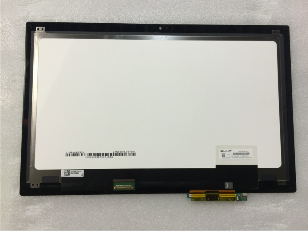 13.3'' Laptop Assembly For Dell Inspiron 13 7348 7347 LP133WH2 SP B1 1366*768 Touch Screen digitizer LCD Display Assembly lp133wh2 sp b1 for dell inspiron 13 7359 digitizer lcd touch screen assembly led display replacement 1366 768