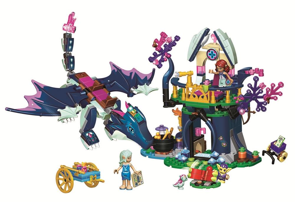 Girl Rosalyns Healing Hideout BELA Elves Building Blocks Sets Bricks Classic For Friends Kids Model Toys Compatible Legoe цена