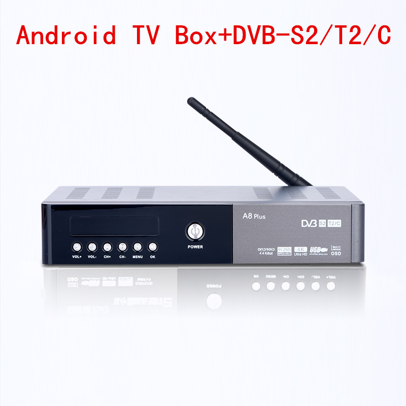 A8 Plus Support DVB-S2 DVB-T2 DVB-C Android Combo HI3796 chipset 1080p 4K Set Top Box H.265 USB3.0 for PVR WiFi TV Box