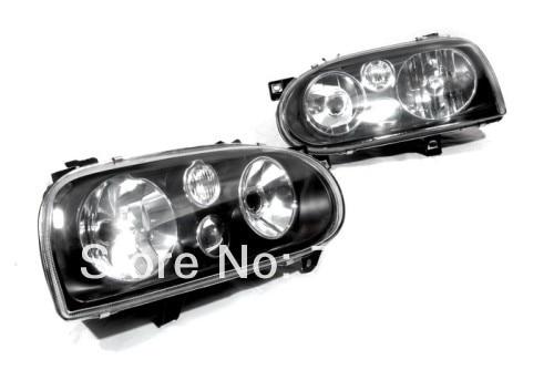 MK4 Style Smoke Head Light For VW Golf MK3 laser head dcs p8i mk ii sacd