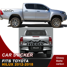 free shipping  mountain car sticker 4x4 off road vinyl graphics for toyota hilux revo and vigo