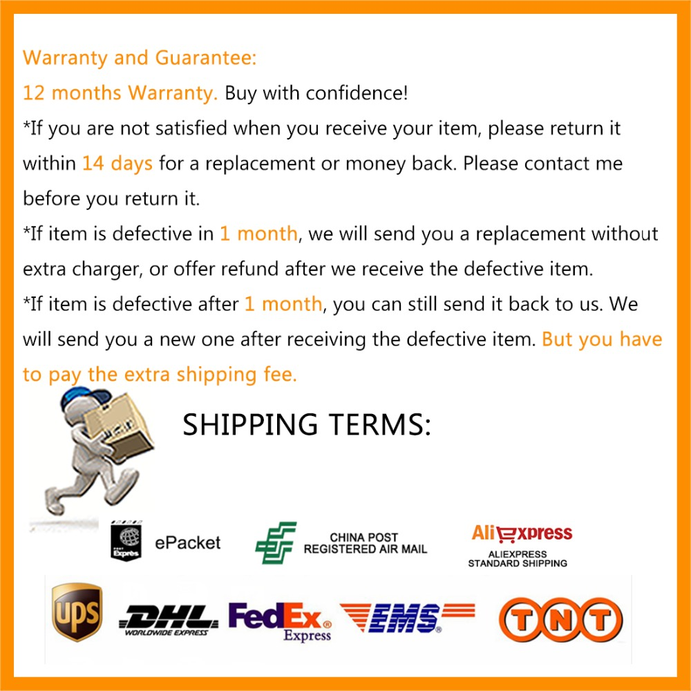 SHIPPING AND WARRANTY 1