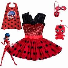 tessuti pregiati estetica di lusso modelli alla moda Galleria girl ladybug costume all'Ingrosso - Acquista a ...