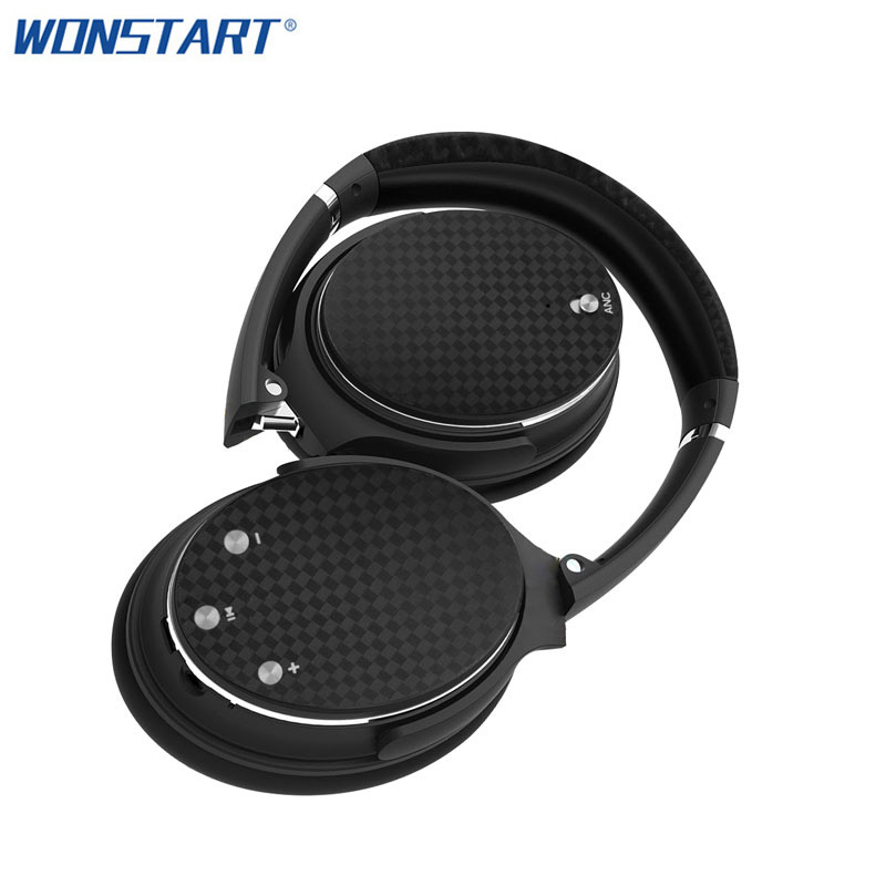 Wonstart ANC Wireless Stereo Headphones Portable Bluetooth Headset with Microphone for iphone Samsung Xiaomi Huawei bluedio t4 original wireless headphones portable bluetooth headset with microphone for iphone htc samsung xiaomi music earphone