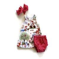 Модная хлопковая одежда для маленьких девочек комплект одежды для детей 2 шт. розовый комбинезон + повязка на голову с цветком для сезон: вес...