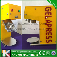 The CE certified stainless food grade 5 moulds gelato maker italian noodle soft ice cream machine