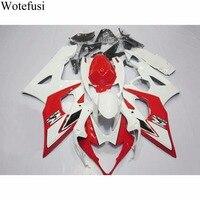 Wotefusi новый УФ краска ABS система впрыска Кузов обтекатель для Suzuki GSXR 1000 K5 2005 2006 [CK1376]