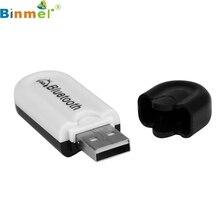 Высочайшее Качество USB Беспроводной Громкой Связи Bluetooth Аудио Музыка Приемник Адаптер для iPhone/для Samsung Galaxy Note 7 АВГУСТА 26