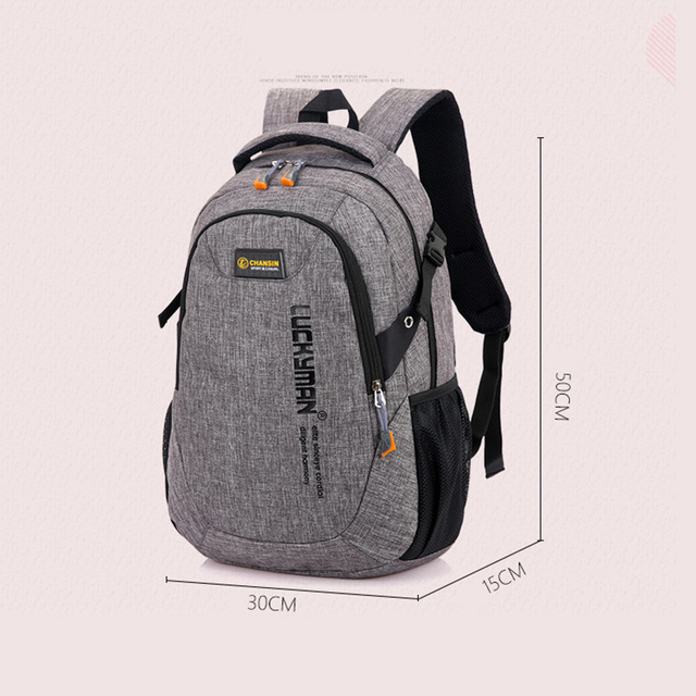 2019 Men Backpack Oxford Male Travel bag Backpacks fashion men and women Designer student bag laptop bag High capacity backpack 4