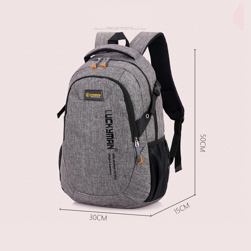 Image 5 - 2019 Men Backpack Oxford Male Travel bag Backpacks fashion men and women Designer student bag laptop bag High capacity backpack-in Backpacks from Luggage & Bags