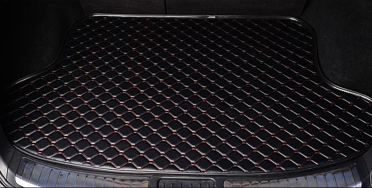 Car Styling Car Trunk Mats for VW GOLF 6 Trunk Liner Carpet Floor Mats Tray Cargo Liner Waterproof 4 Colors Optional