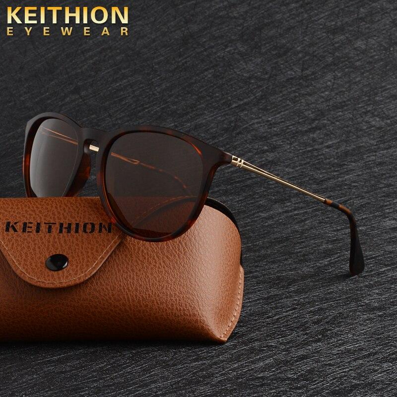 KEITHION Brand Fashion Women Oval Style  Sunglasses Vintage Designer Cat Eye Sun Glasses Driving UV400 Eyewear