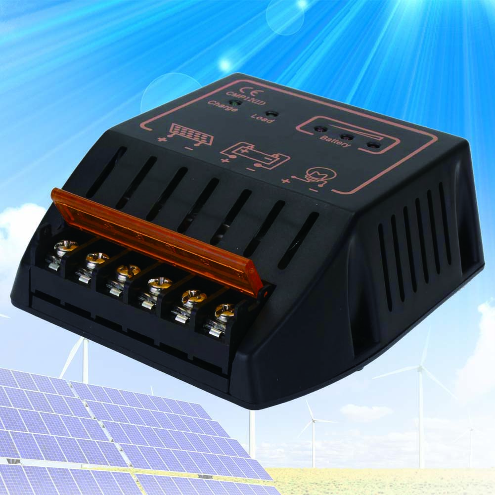 10a 12v 24v Solar Panel Charge Controller Battery Regulator Safe Circuit Protection Over Loadshort Circuitlightning In Controllers From Home