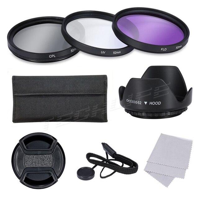 CPL + UV + FLD Фильтр Объектива 37 52 55 58 62 72 77 мм Комплект для Canon Nikon Sony Fujifilm Цифровой Зеркальный Фотоаппарат Pentax Объективов с Резьбой Под Фильтр 30